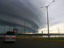 Starke Unwetter und Sturmböen über 100 km/h