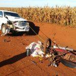 Zwei minderjährige Schwestern von Deutschbrasilianern sterben auf dem Motorrad