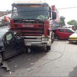 Auffahrunfall wegen mangelhaften Bremsen
