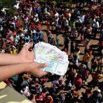 Ein Geldregen könnte für gewalttätige Ausschreitungen sorgen