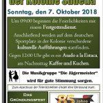 Deutsche Kolonie Sudetia feiert ihr 85-jähriges Bestehen