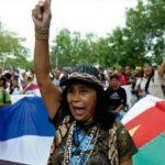 Ehre und Dankbarkeit gegenüber den indigenen Frauen