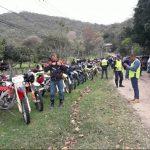"Motorradfahrer aus Loma Plata ""erobern"" Fuerte Olimpo"