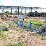 Probleme bei dem Bau des Aquädukts im Chaco