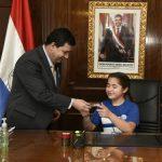Nara, die neue Präsidentin von Paraguay