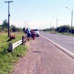 Auf der Transchaco-Route anscheinend überfallen und ermordet