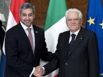 Abdos erste Reise als Staatsoberhaupt nach Europa