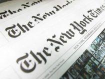 The New York Times erklärt nicht für Interview gezahlt zu haben