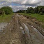Chaco: Von einer feinen Schicht Schlamm bedeckt