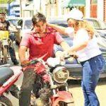Verkehrserziehung in Guairá