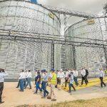 Kooperative Chortizer weiht im Chaco neues Silo für Sojabohnen ein