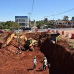 Historischer Tunnelbau in Campo 9, initiiert durch Mennoniten, hat begonnen