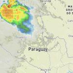 Unwettergefahr im zentralen und nördlichen Chaco