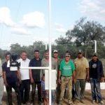Neue Wetterstation im Chaco in Betrieb genommen