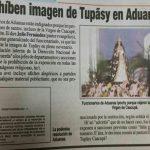 Zollbehörde lässt angeblich religiöse Relikte entfernen