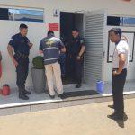 Totes Baby auf einer Toilette in Campo 9 gefunden