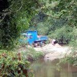 Strände verschwinden aufgrund illegaler Sandförderung