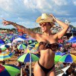 San José Strand: Bikini, Badeanzug oder Badehose ist Pflicht
