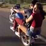 Freiheit auf einem Rad
