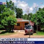 Räuber ermorden Hausbesitzer wegen 250.000 Guaranies