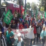 750 Campesinos demonstrieren in Caaguazú und Villarrica
