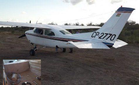 Chaco: Drogenflugzeug nahe Nationalpark gefunden