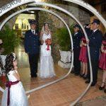 Mit der Feuerwehr in den Hafen der Ehe