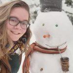 Viel Schnee, eine Deutsche und Tereré