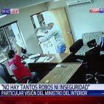 """Innenminister: """"Es gibt weniger Raubüberfälle und Unsicherheit in Paraguay"""""""