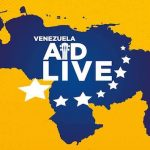 Live Aid Venezuela in vollem Gange
