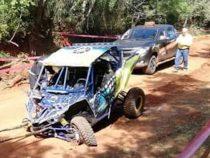 Junges Mädchen stirbt bei Rallye-Unfall
