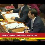 Dionisio Amarilla wurde abgewählt