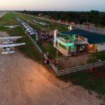Einweihung von Tower am Flughafen Loma Plata