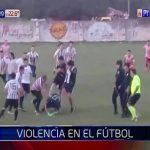 Gewalttätige Ausschreitung bei Fußballspiel