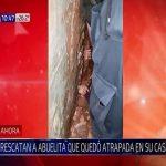 86-Jährige drei Tage im Haus eingesperrt