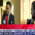 Libanesen überfallen und 280.000 USD gestohlen