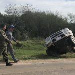 Chaco: Unglückliches Manöver endet im Seitengraben