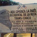 Ruta Transchaco: Einen Traum Wirklichkeit werden lassen