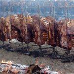 Grillfest mit 4 Tonnen Rinderrippen