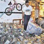 Es fehlt Müll zum Recyclen