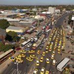 Ruta Transchaco gesperrt