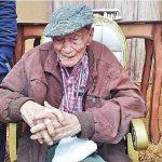 Stolze 109 Jahre alt und Vater von 16 Kindern