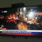 """Mario Abdo Benítez dankte Cartes für die """"Rettung"""""""