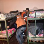 Kälte: Obdachlose suchen Schutz
