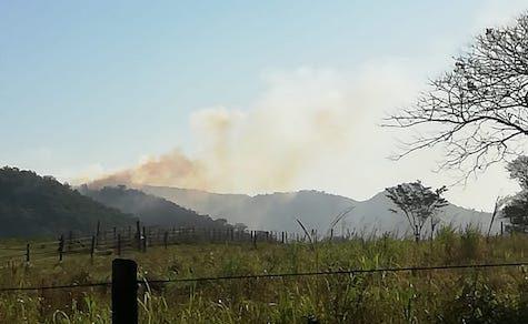 Waldbrand im Ybytyruzú