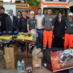 Wichtige Unterstützung für die Feuerwehr
