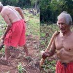 Mit 90 Jahren jeden Tag auf dem Acker