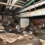 Zigarettenkippe löst Brand im Krankenhaus aus