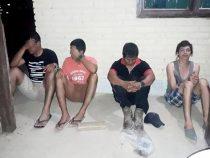 4 Drogendealer im Chaco festgenommen