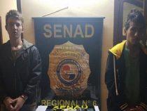 Zwei Drogendealer im Chaco verhaftet
